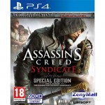 PS4 Game : Assassin's Creed Syndicate Special Edition