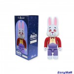 BE@RBRICK WHITE RABBIT 400%