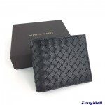 BOTTEGA VENETA 8 Card Wallet Nero