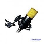 NUBWO STREAMING MICROPHONE M-21 GOLD/BLACK