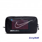 NIKE NK ACDMY SHOEBAG - MISC - BLACK/LASER CRIMSON/METALLIC BLACK
