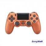 SONY PLAYSTATION DUAL SHOCK 4 CONTROLLER CUH-ZCT2G 24 METALLIC COPPER